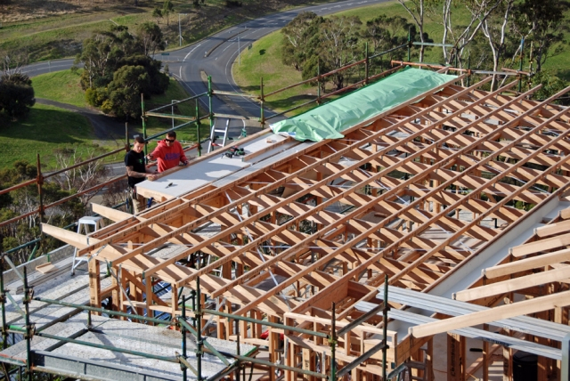 Details Details Roof Structure Hobart Hill House